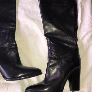 Ralph Laureen Purple Label Heeled Riding Boots